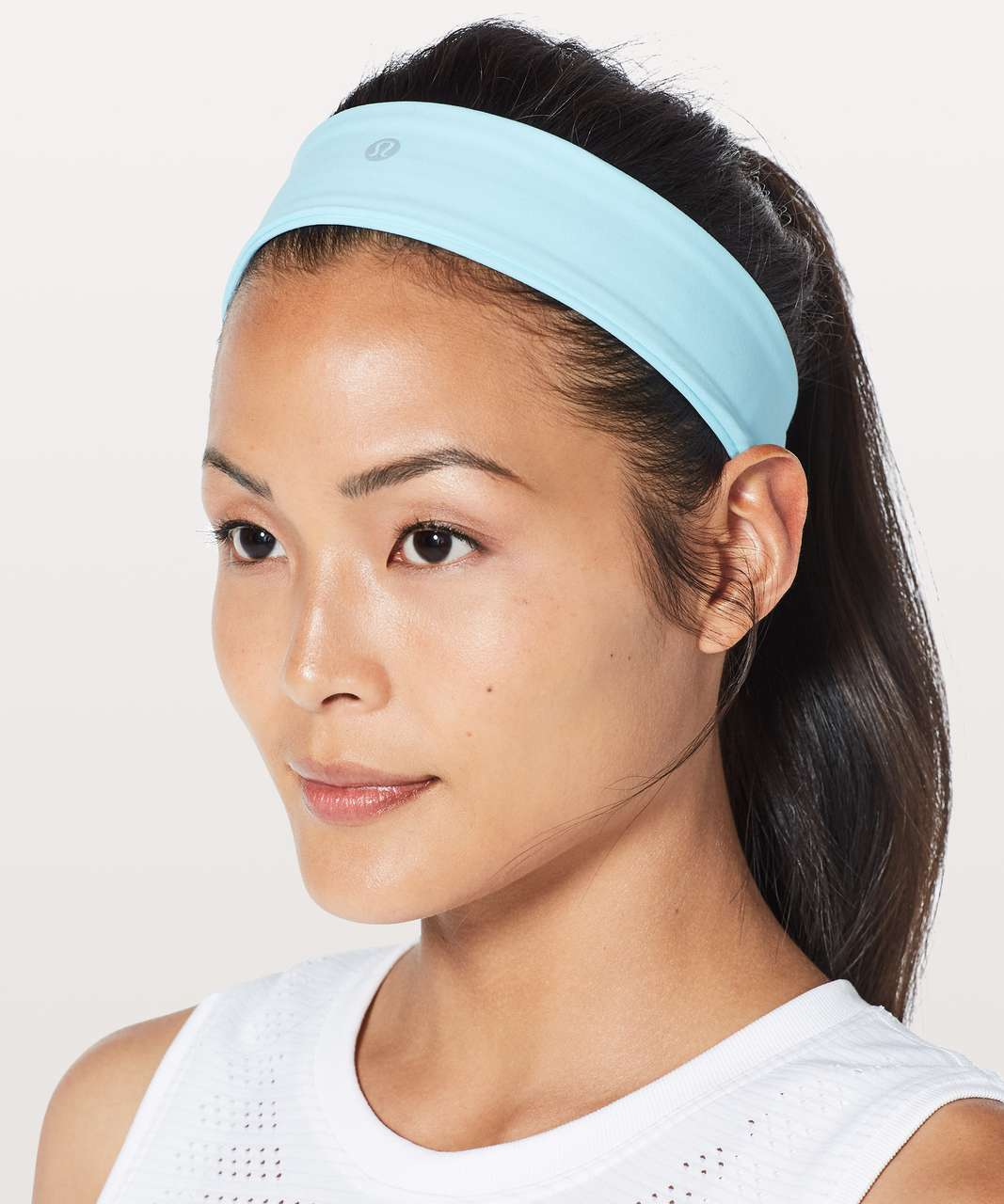Lululemon Fly Away Tamer Headband II *Luxtreme - Blue Glow