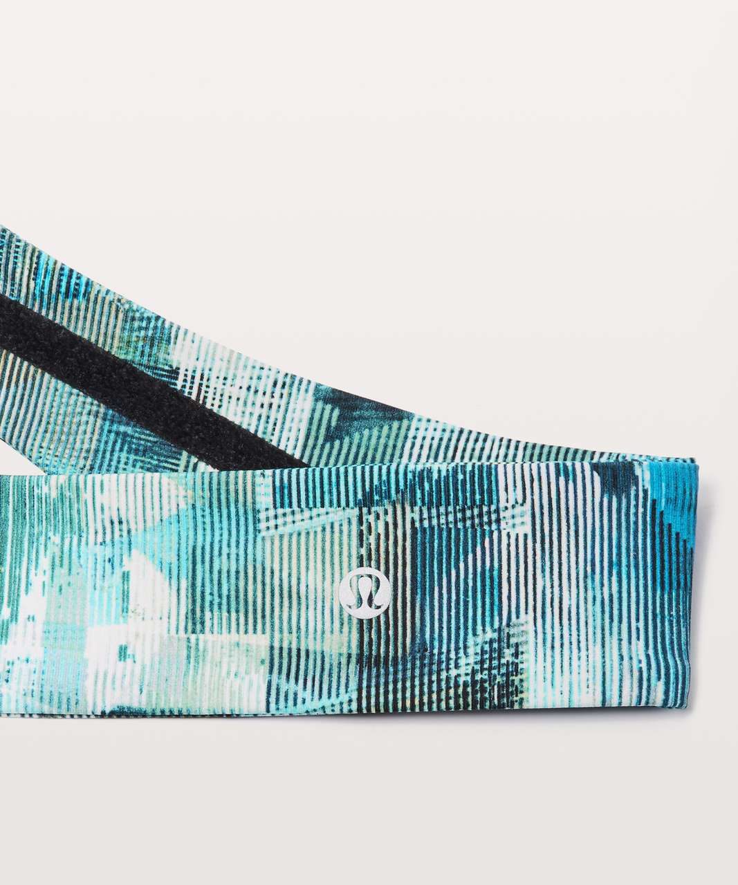 Lululemon Fly Away Tamer Headband II *Luxtreme - Sun Dazed Multi Blue