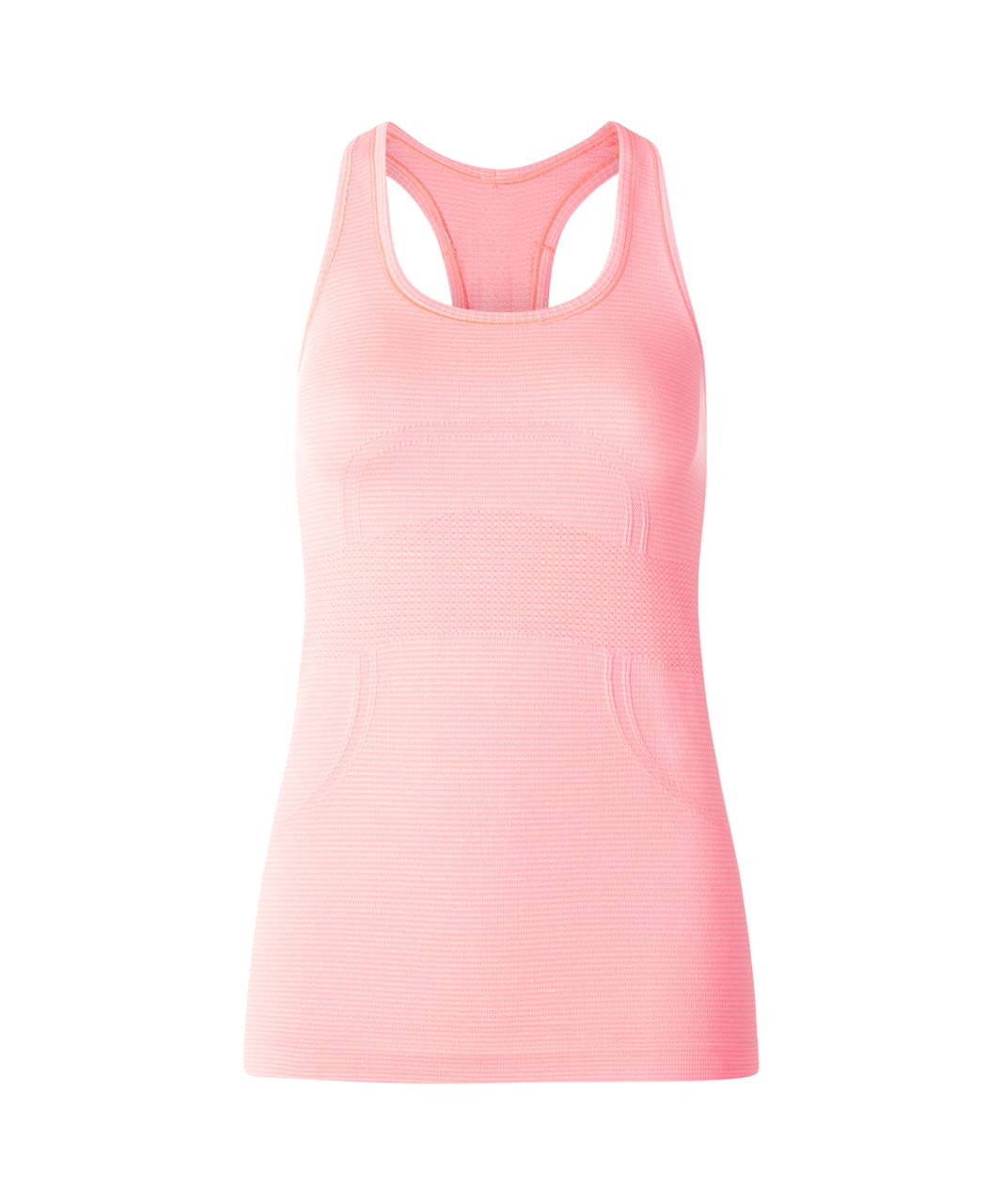 Lululemon Swiftly Tech Racerback - Heathered Bleached Coral