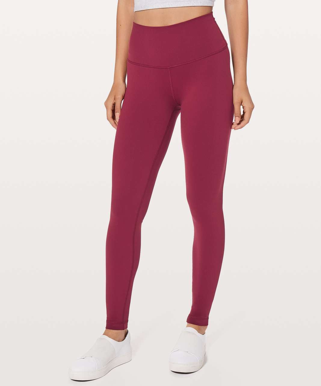 "Lululemon Wunder Under Hi-Rise Tight 28"" - Ruby Wine"