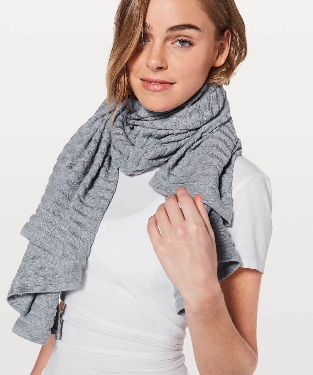 Lululemon Rejuvenate Wrap *Transformational (Stripe) - Heathered Space Dyed Nimbus