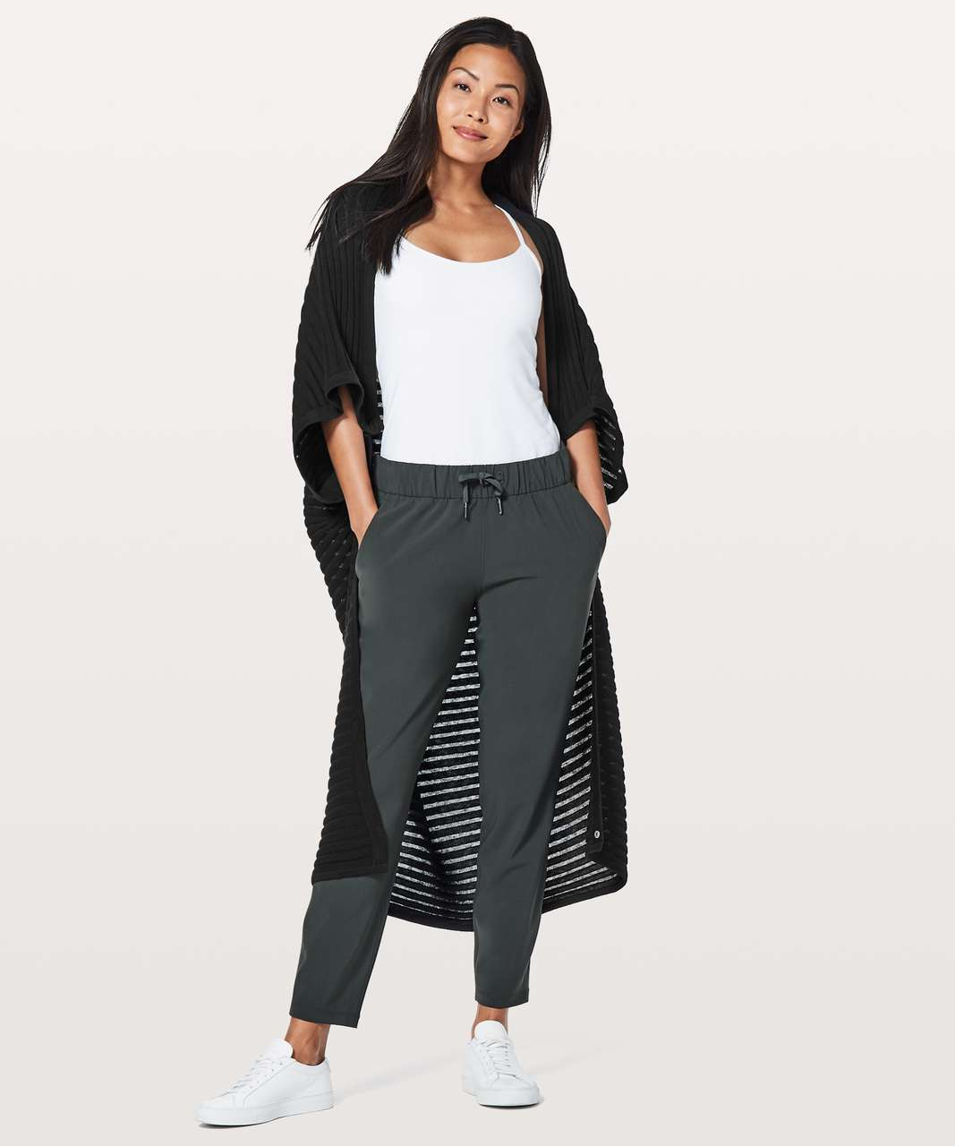 Lululemon Rejuvenate Wrap *Transformational (Stripe) - Black