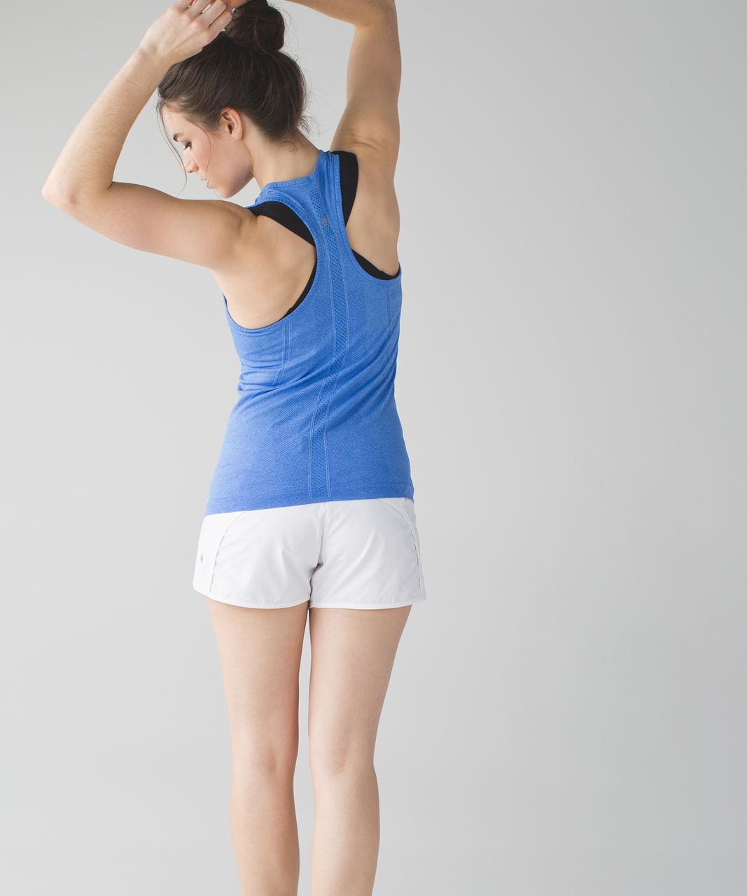 Lululemon Swiftly Tech Racerback - Heathered Pipe Dream Blue