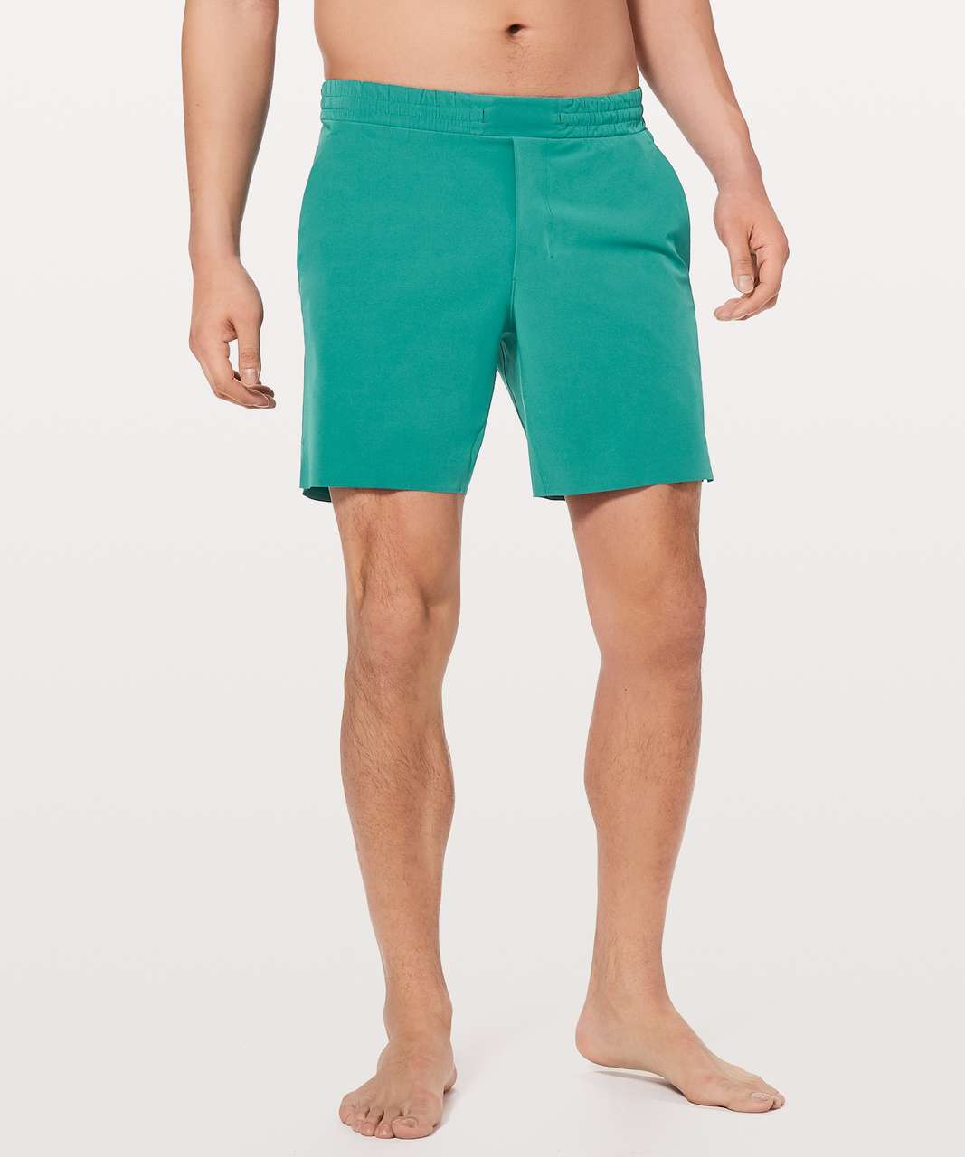 "Lululemon Channel Cross Short *7"" Updated - Teal Green"