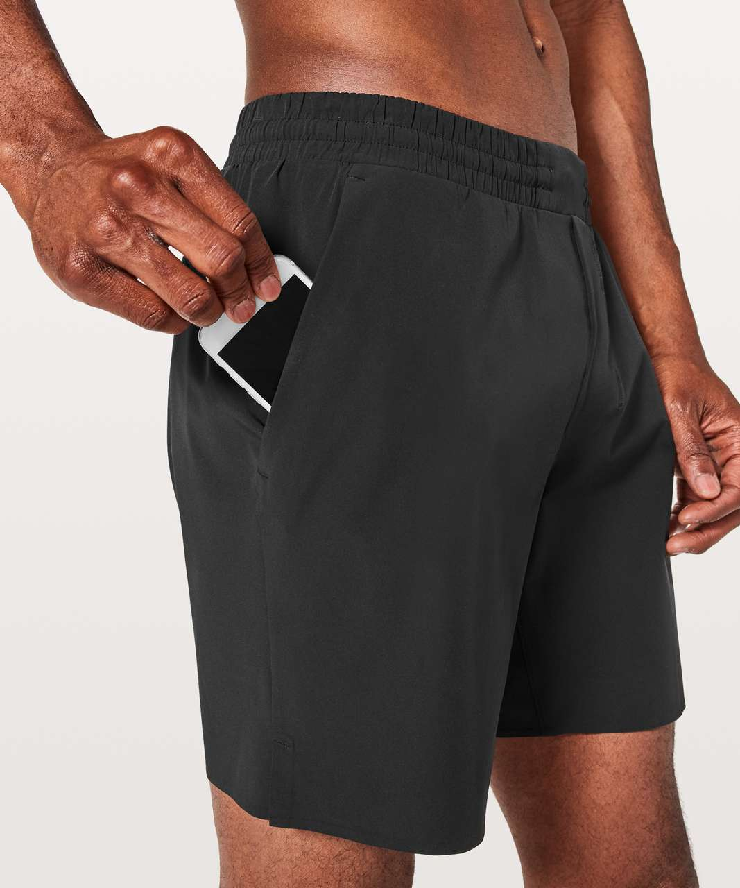 "Lululemon Channel Cross Short *7"" Updated - Black"