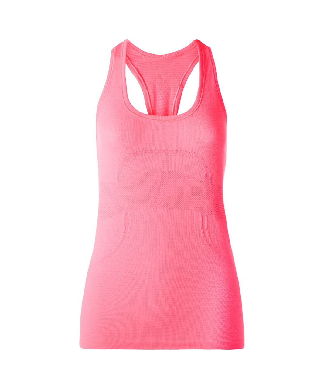 Lululemon Swiftly Tech Racerback - Heathered Neon Pink