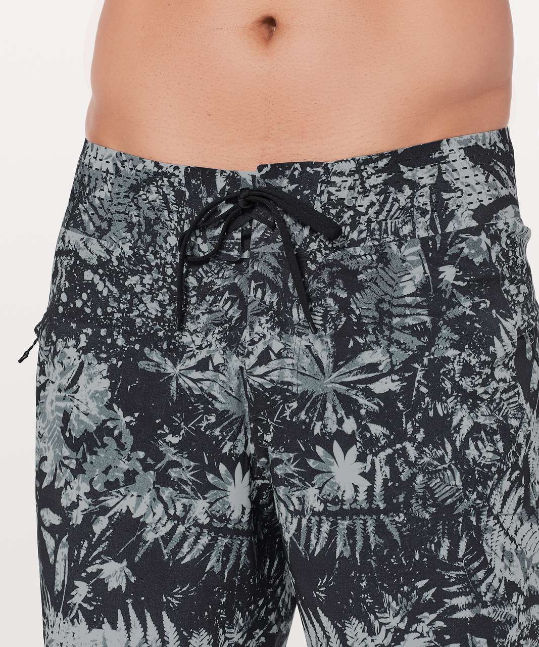"Lululemon Current State Short *9"" Updated - Canopy Ice Grey Black"