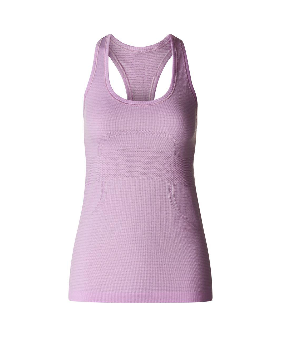 Lululemon Swiftly Tech Racerback - Heathered Pretty Purple