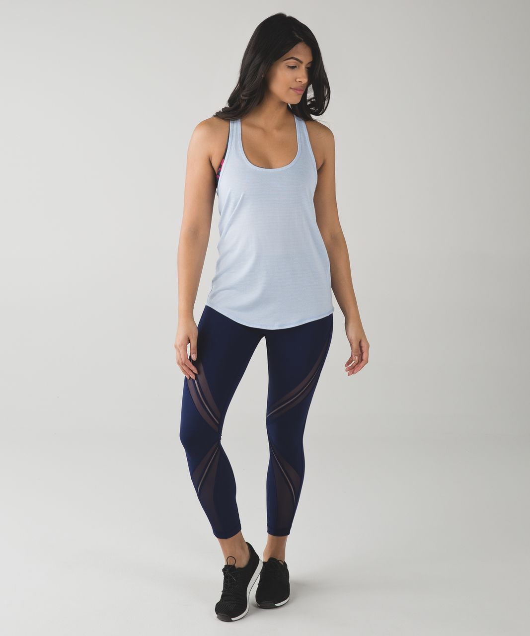 Lululemon Salute the Sun Singlet II - Heathered Chalk