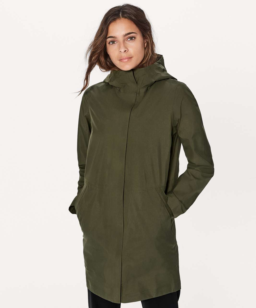 Lululemon Rain Haven Jacket - Armory