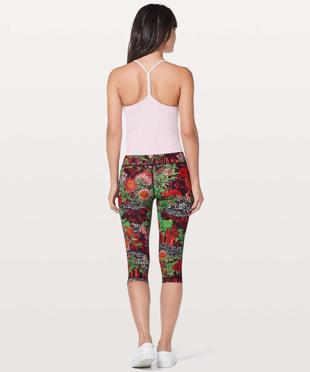 "Lululemon Wunder Under Hi-Rise 1/2 Tight 17"" - Zen Garden Multi"