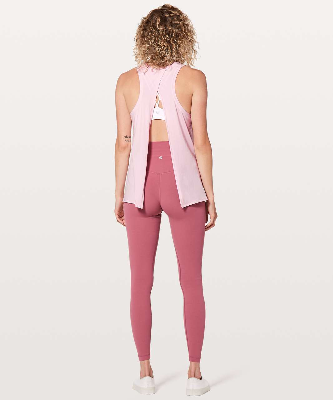Lululemon All Tied Up Tank - Petals