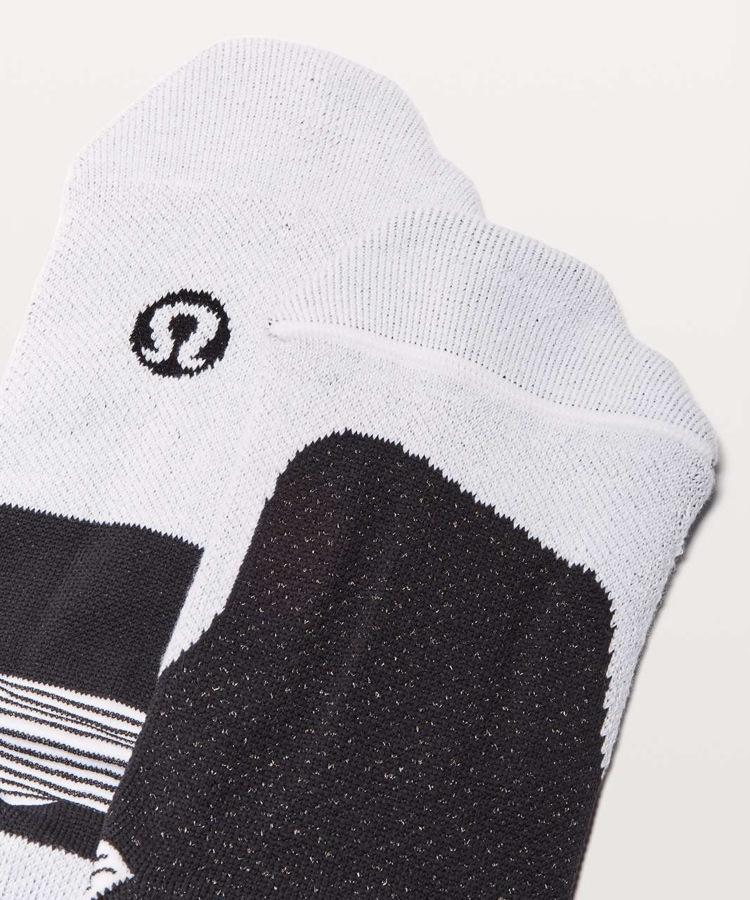 Lululemon T.H.E. Sock *Silver - Black / White