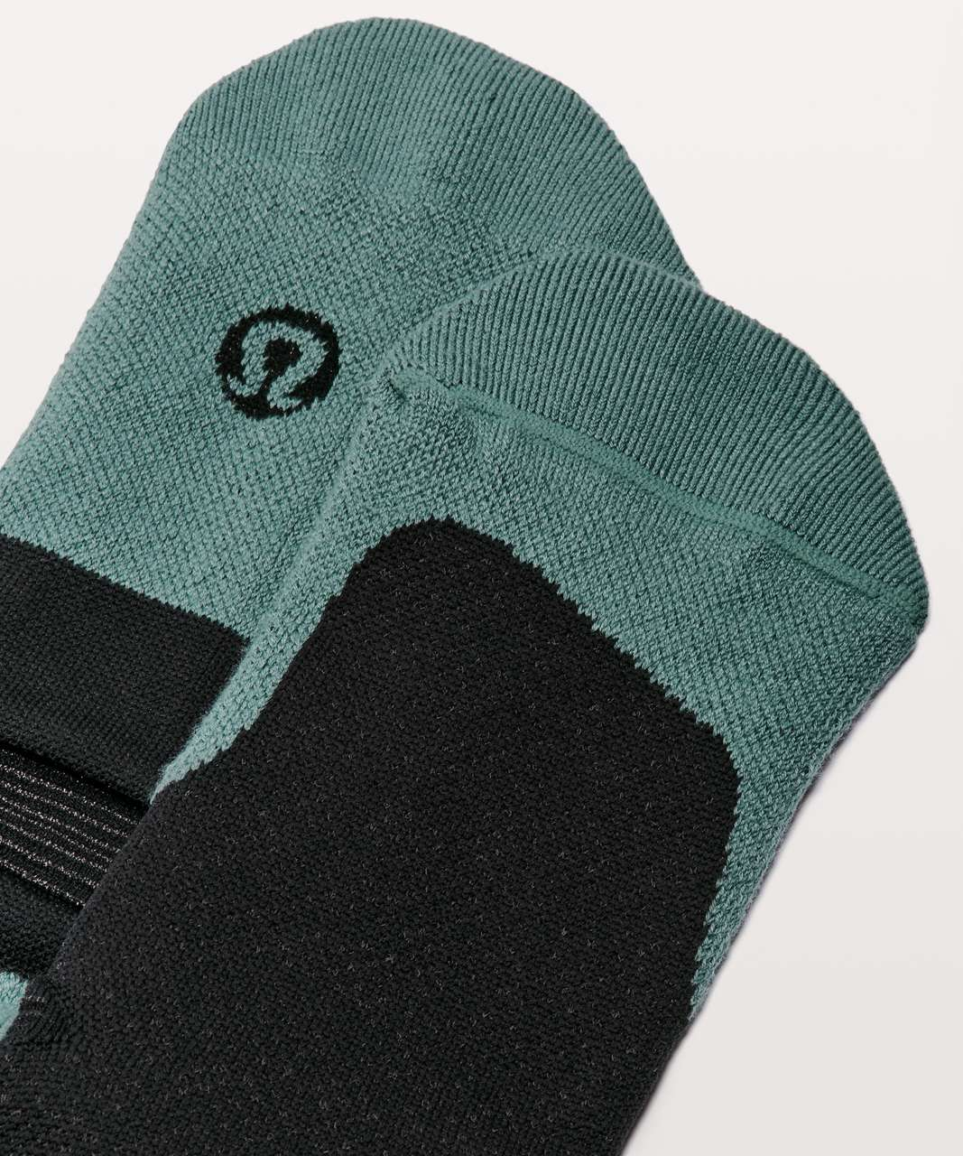 Lululemon T.H.E. Sock *Silver - Mystic Green / Black