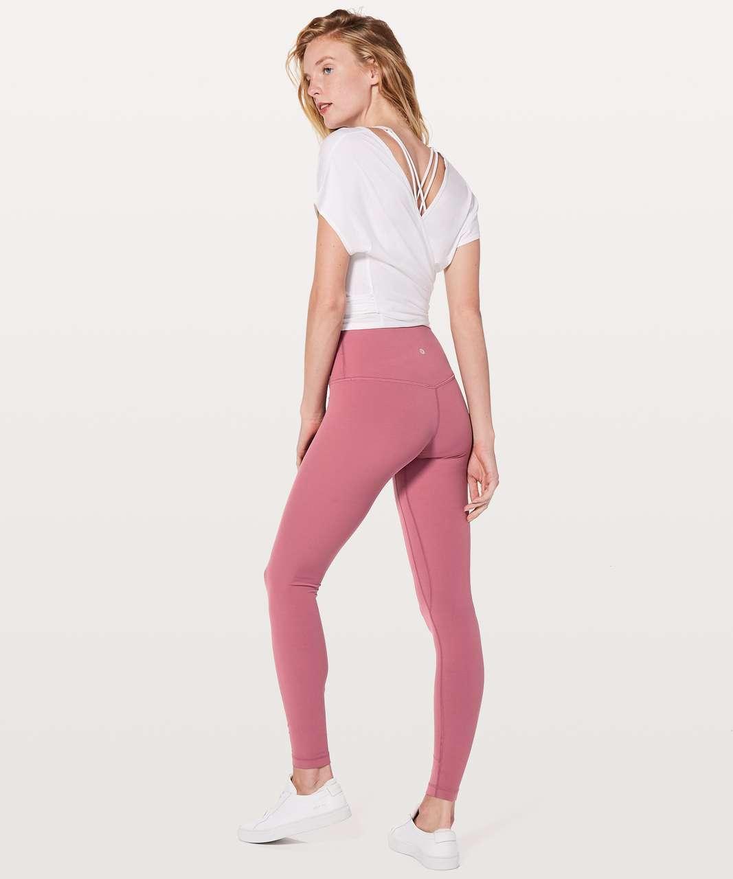 """Lululemon Align Pant *Full Length 28"""" - Moss Rose"""