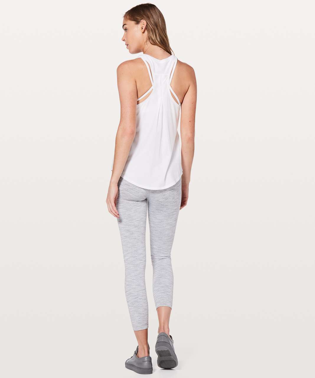 Lululemon Love Tank *Pleated - White