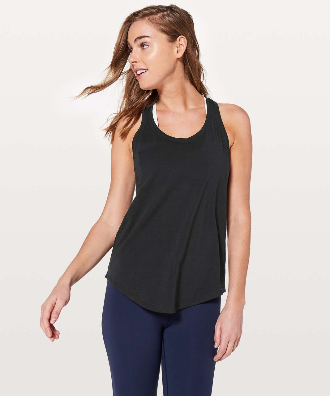 Lululemon Love Tank *Pleated - Black