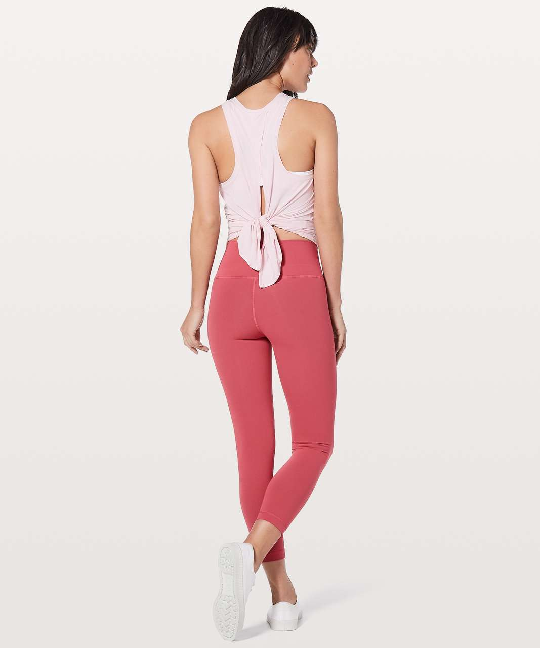 "Lululemon Wunder Under Hi-Rise 7/8 Tight 25"" - Vintage Rose"
