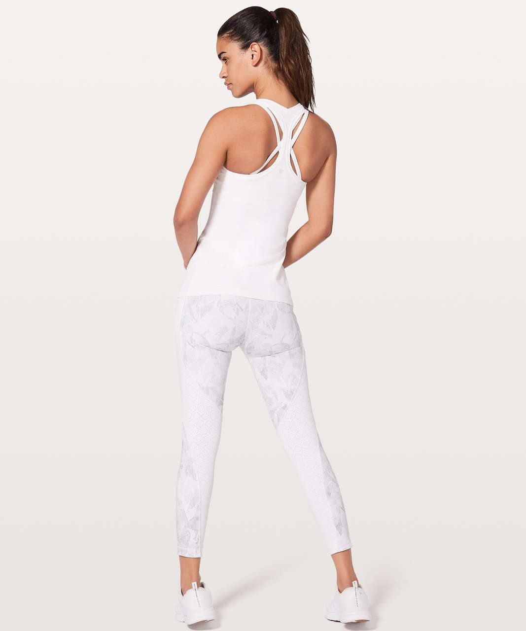 Lululemon Cool Racerback II *Nulu - White (First Release)