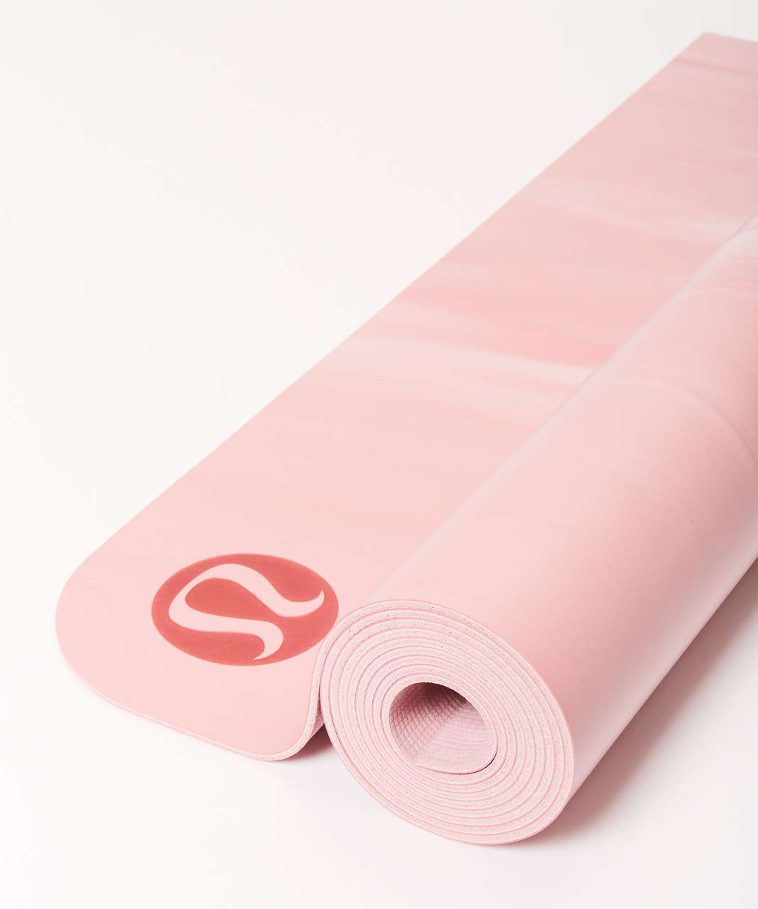 Lululemon The Reversible Mat 3mm - Petals / Cherry Dust