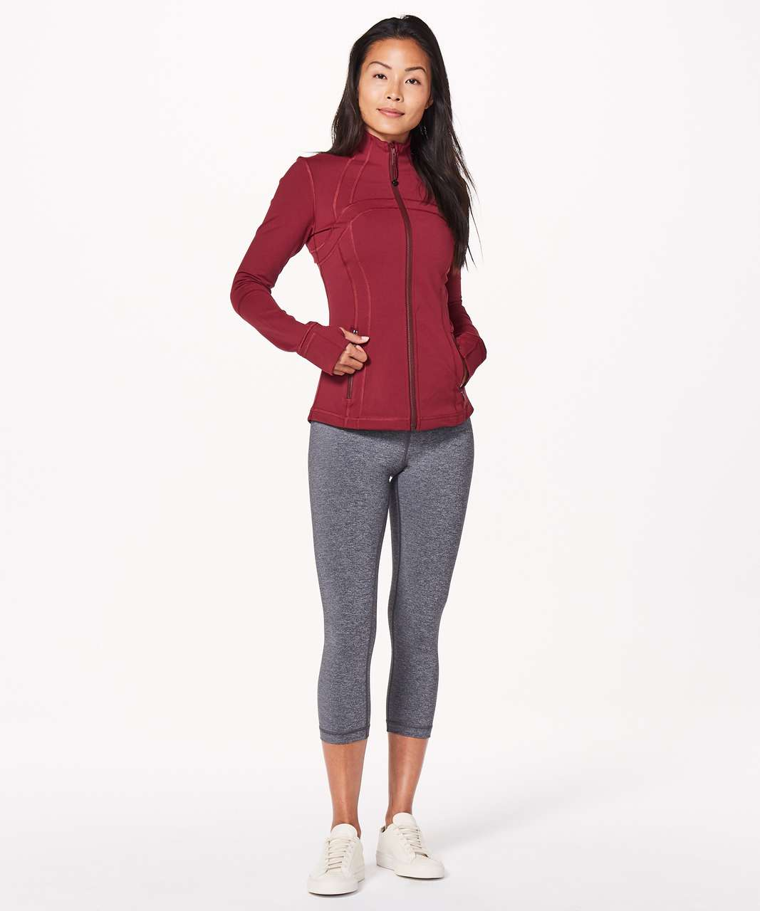 Lululemon Define Jacket - Ruby Wine