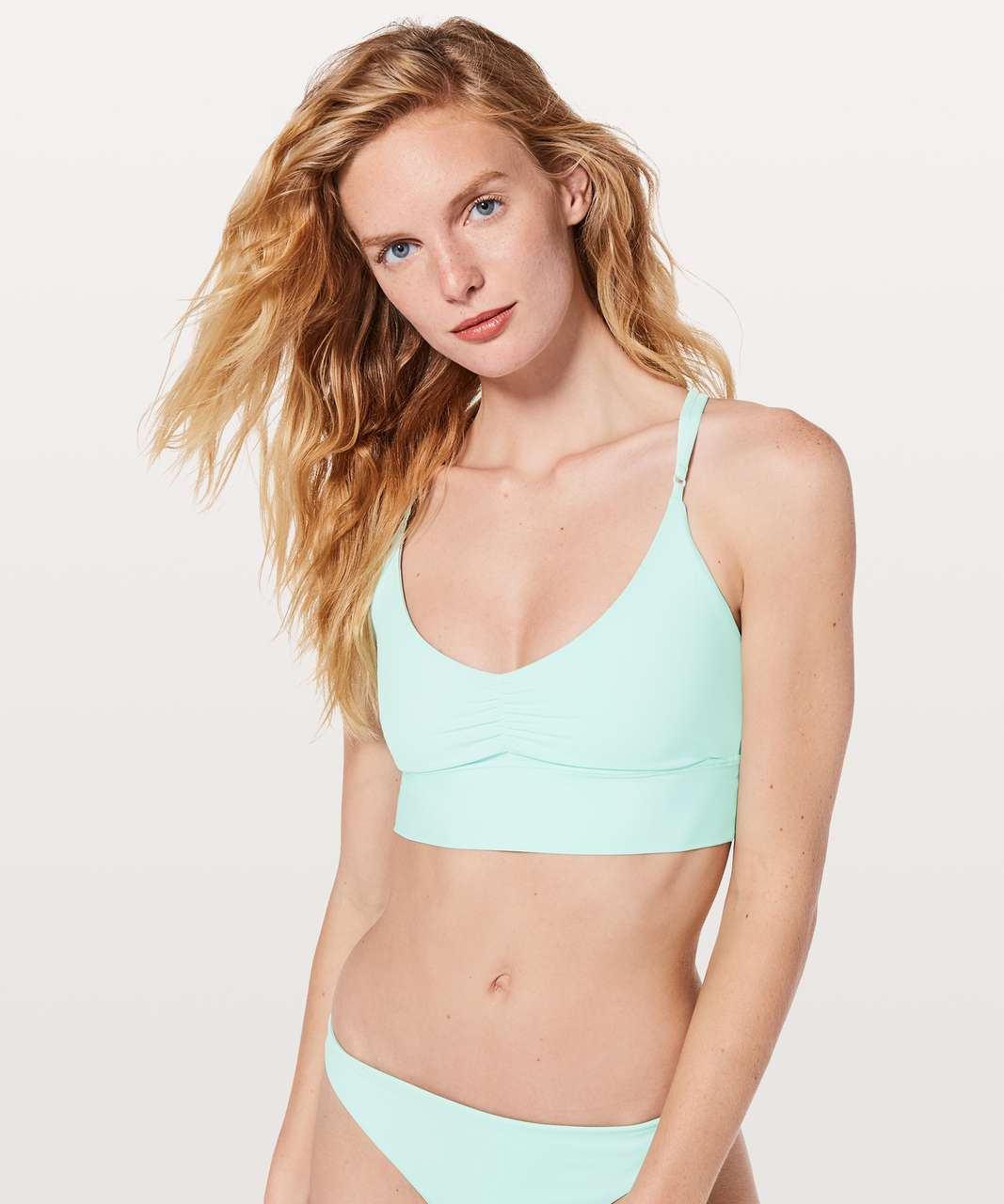 Lululemon Coastline Top - Aquamarine