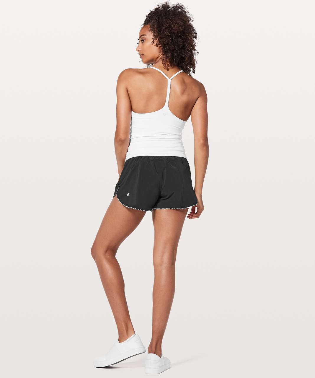 "Lululemon Choose A Side Short *3"" - Black / Monochromic Black"
