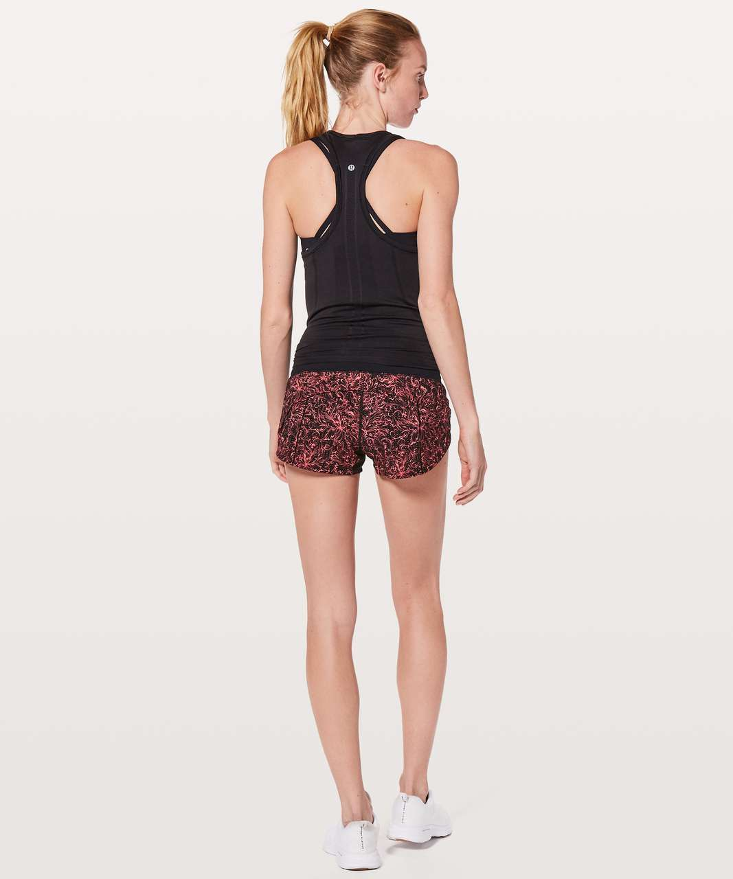 "Lululemon Speed Up Short *2.5"" - Infinity Speed Up Short Glossy Black / Black"