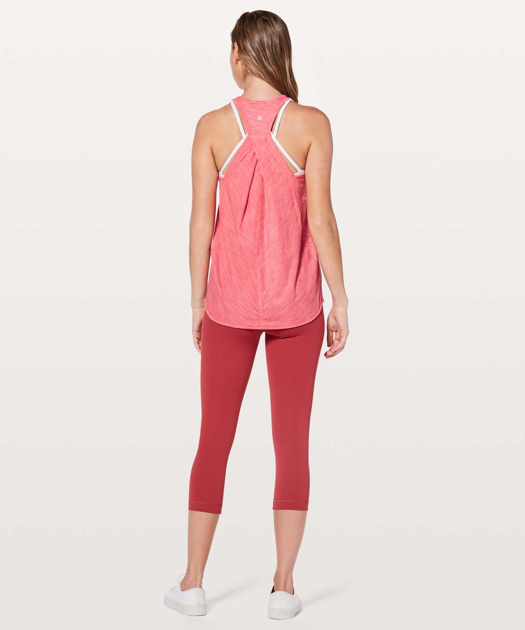 Lululemon Essential Tank - Heathered Glossy
