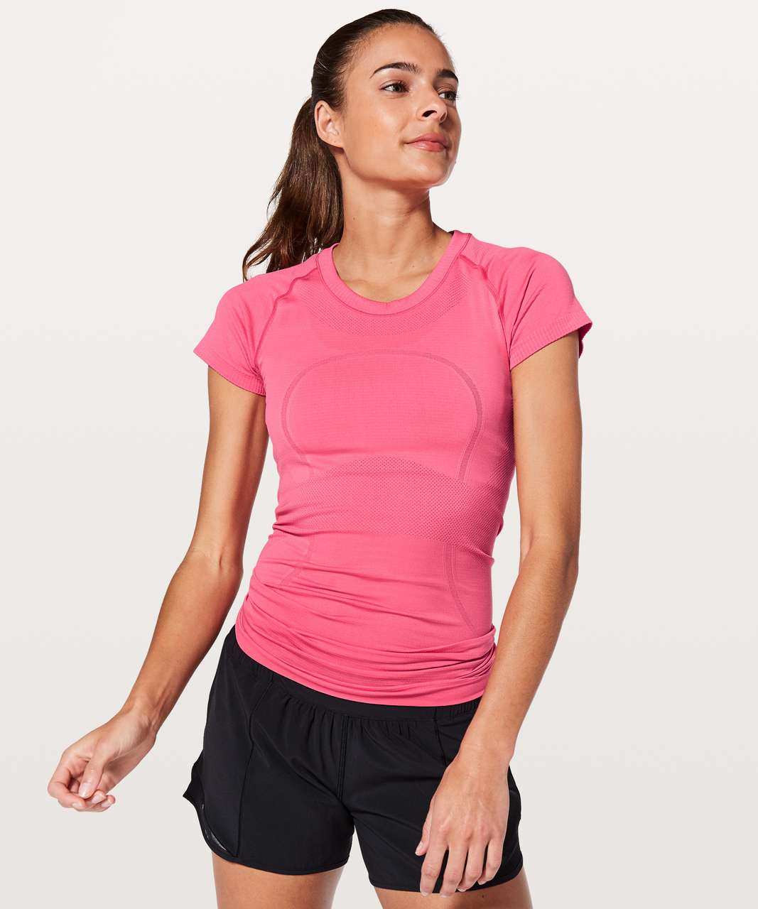 Lululemon Swiftly Tech Short Sleeve Crew - Glossy / Glossy