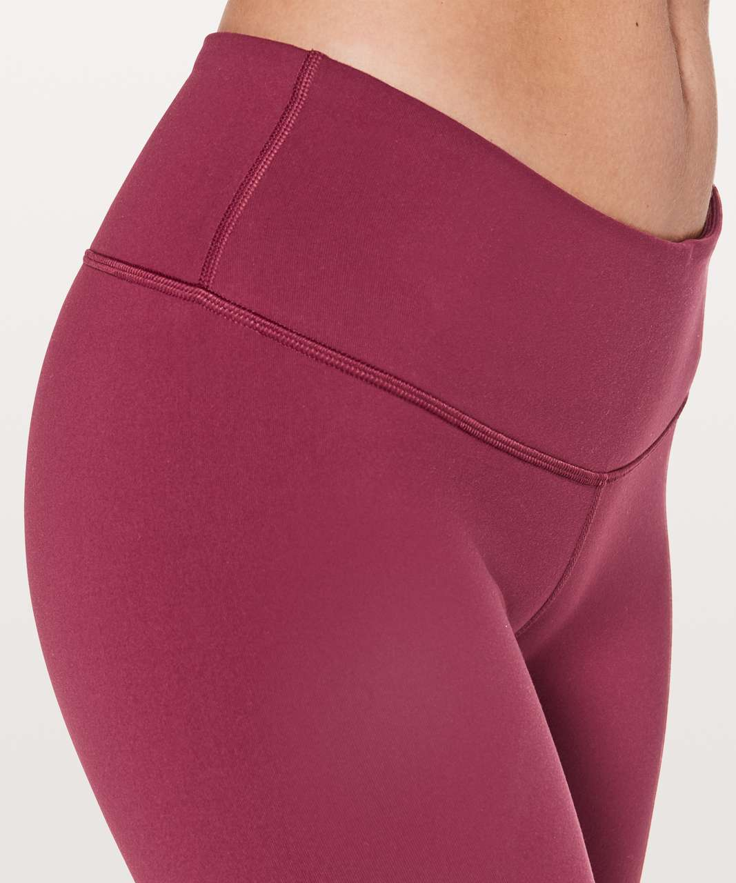 """Lululemon Wunder Under Low-Rise Tight *Full-On Luon 28"""" - Ruby Wine"""