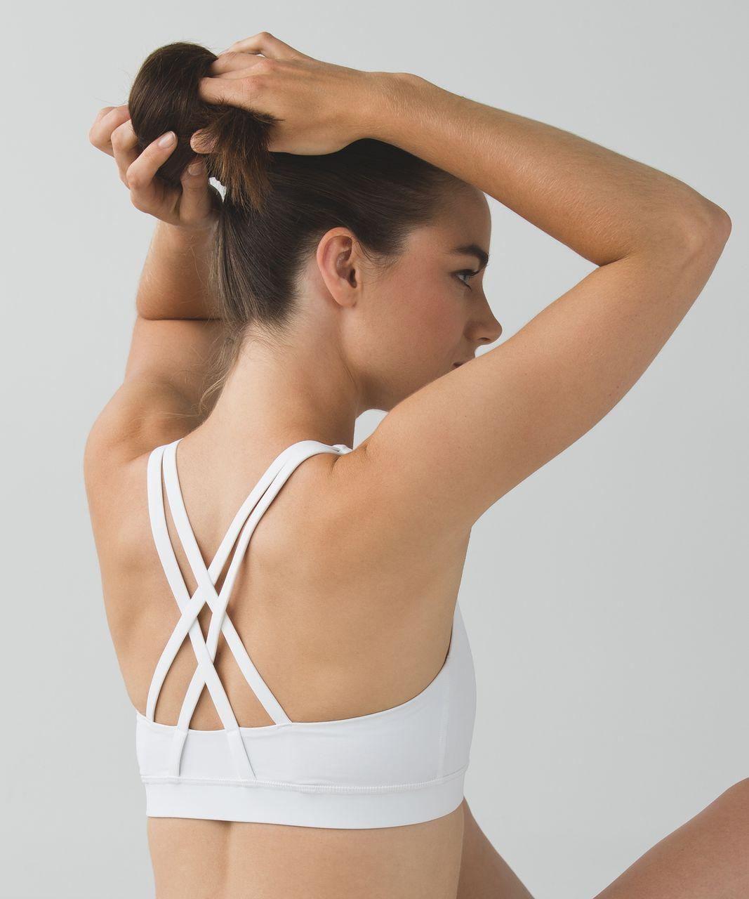 Lululemon Energy Bra - White