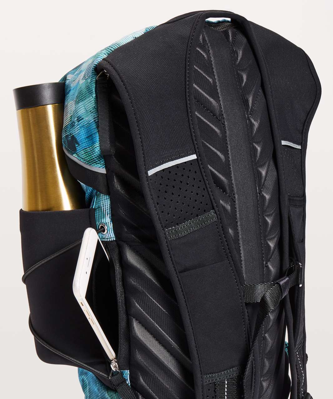 Lululemon Run All Day Backpack II *13L - Sun Dazed Multi Blue / Black