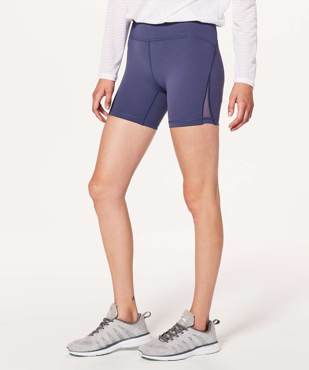 "Lululemon Train Times Short *6"" - Moody Blues"
