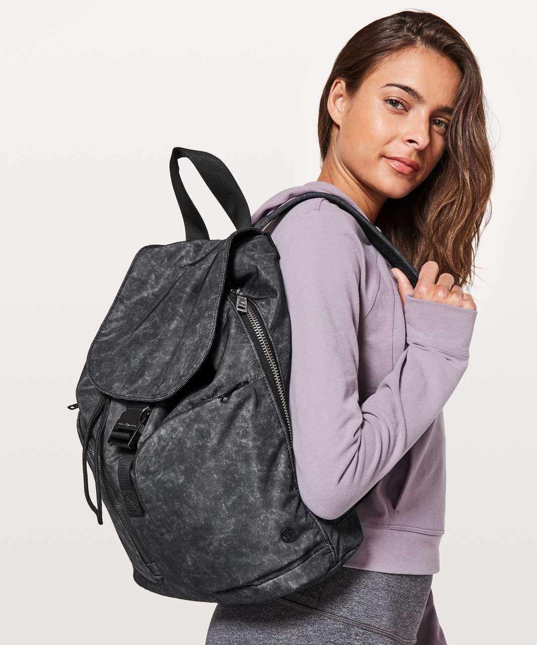 Lululemon Carry Onward Rucksack *12L - Gravel Dust Ice Grey Nebula