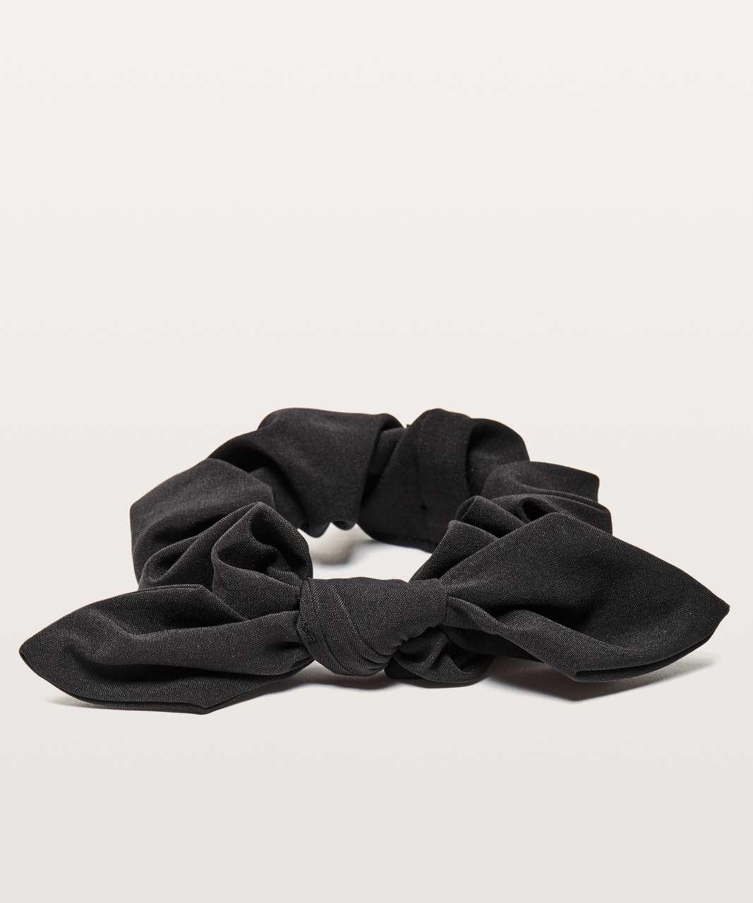 Lululemon Uplifting Scrunchie *Bow - Black