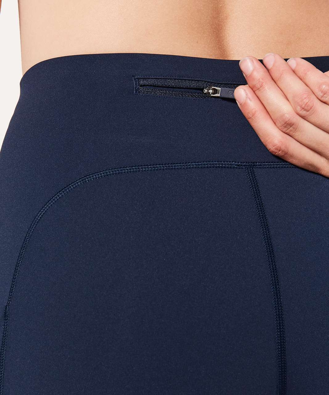 "Lululemon Speed Up Crop *21"" - True Navy (First Release)"
