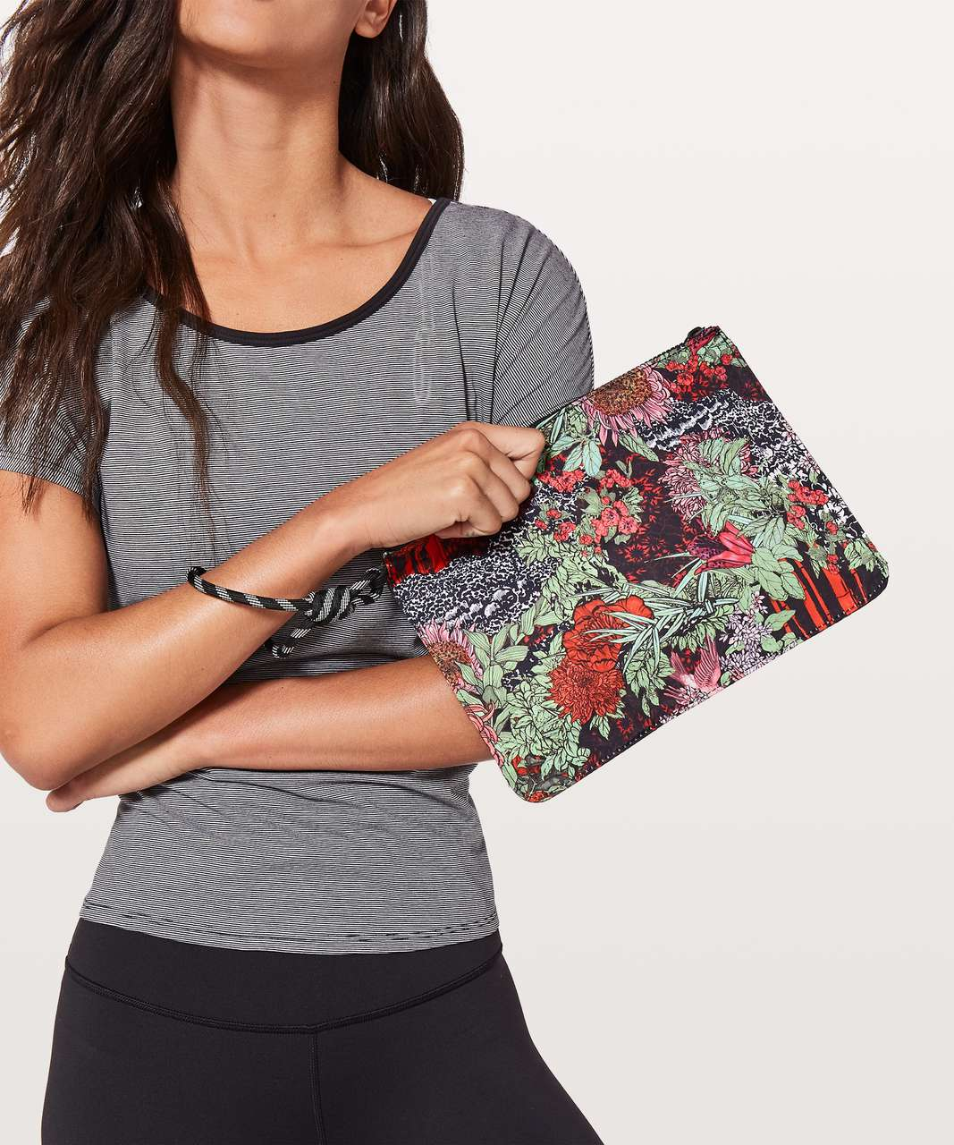 Lululemon All Zipped Up Pouch - Zen Garden Multi