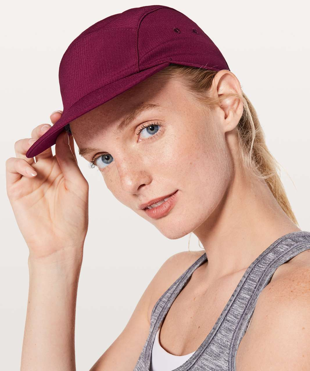 1263f053 Lululemon Five Times Hat - Deep Burgundy - lulu fanatics
