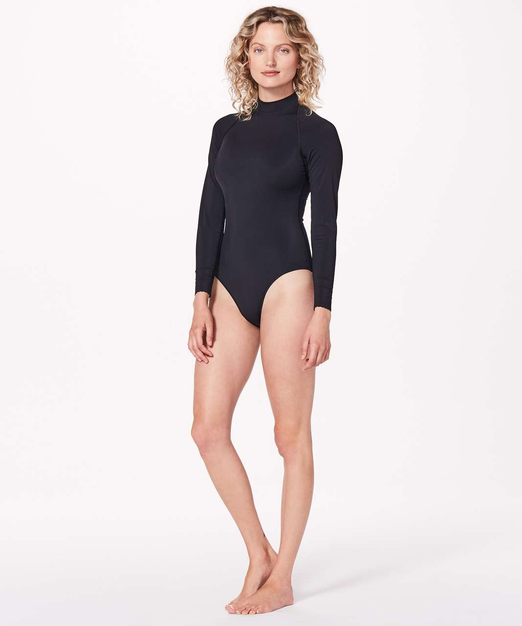 Lululemon Will The Wave Long Sleeve One Piece - Black