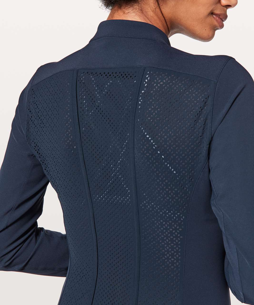 Lululemon Get Your Peek On Jacket - True Navy