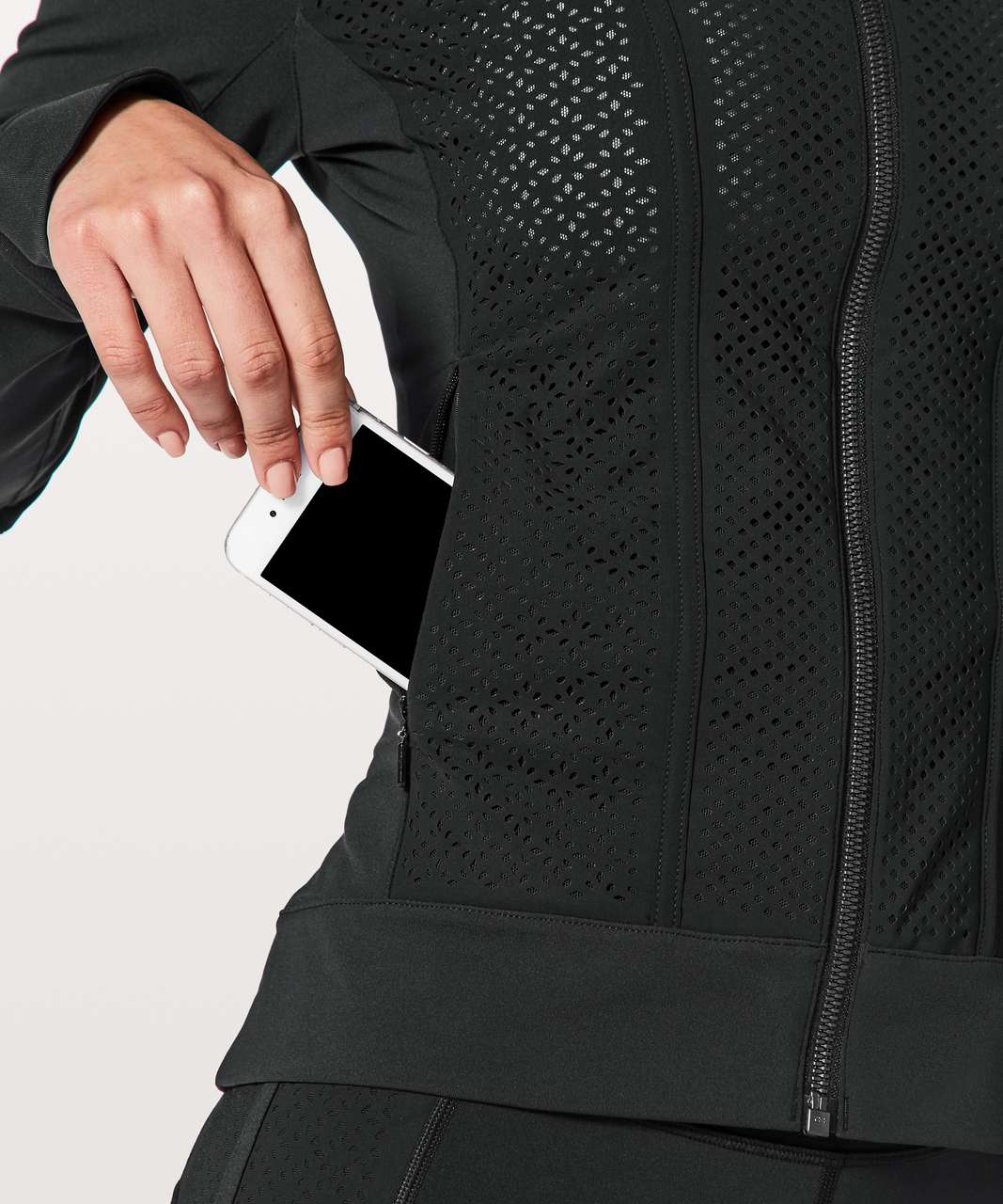 Lululemon Get Your Peek On Jacket - Black