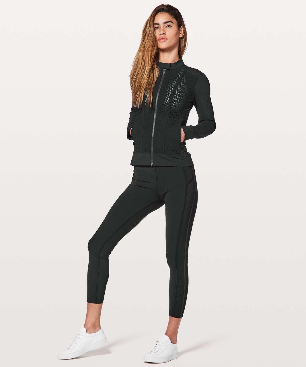 Lululemon Get Your Peek On Jacket - Black