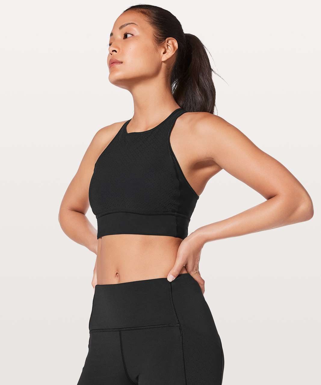 Lululemon Get Your Peek On Bra - Black