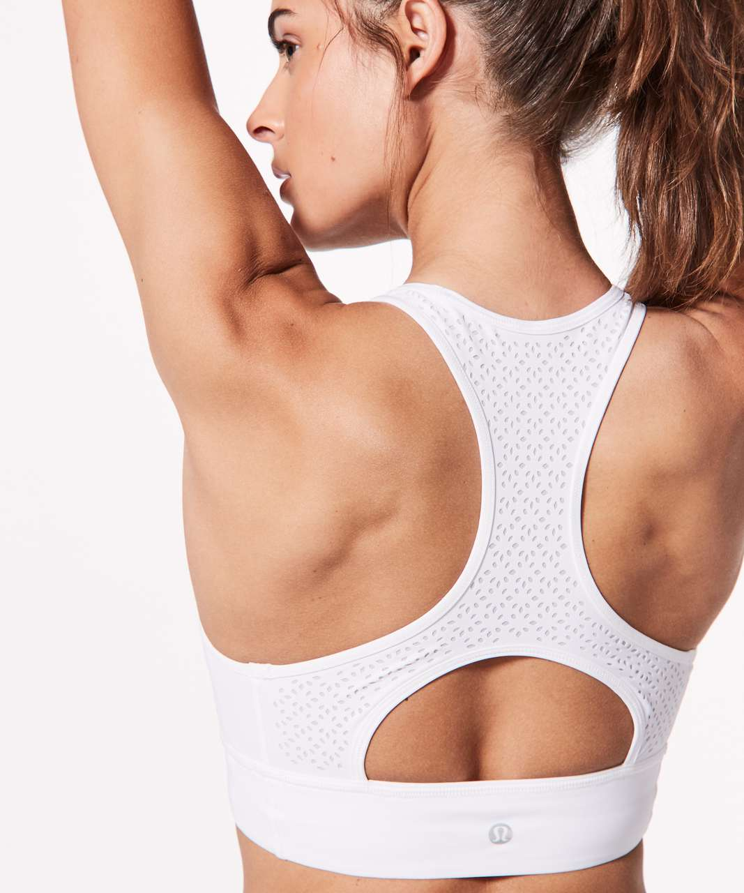 Lululemon Get Your Peek On Bra - White