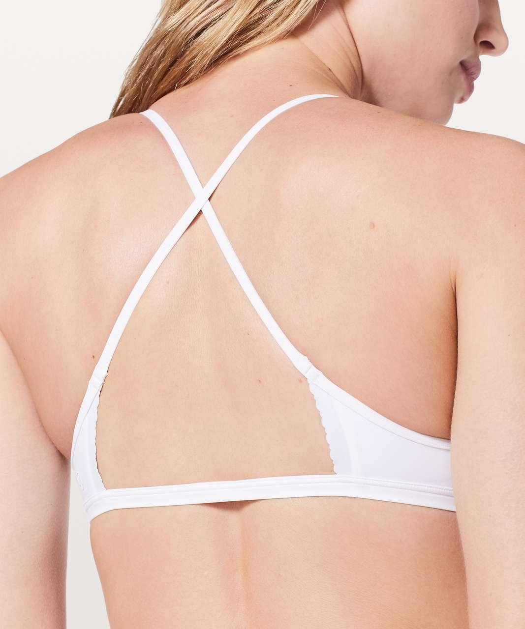 Lululemon Will The Wave Bikini Top - White