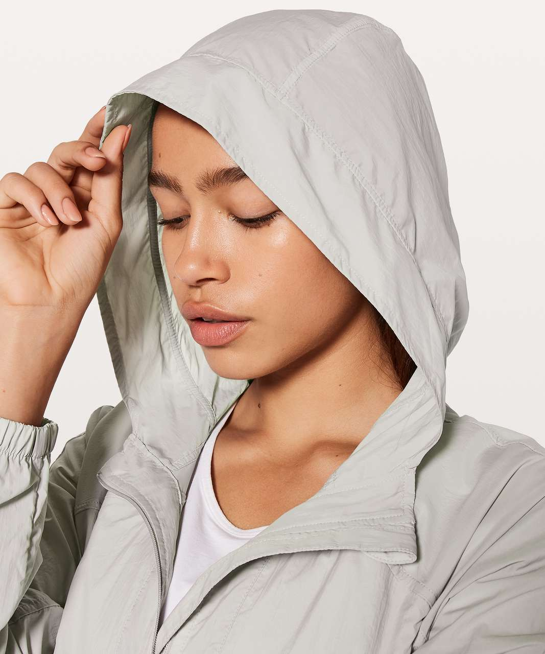 Lululemon Hood Lite Jacket - Chrome