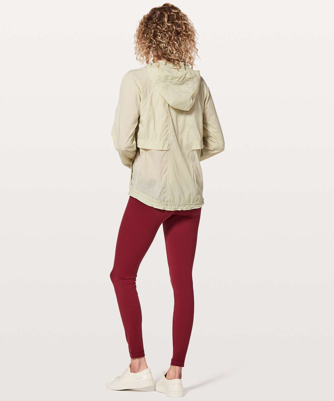 Lululemon Hood Lite Jacket - White Tan
