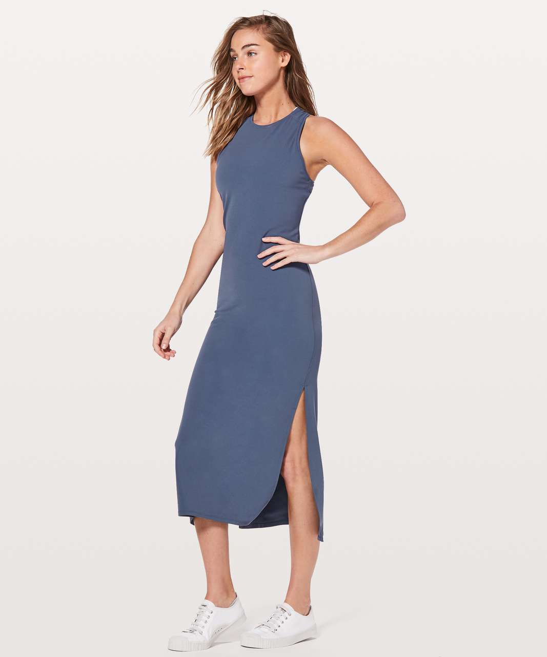 Lululemon Get Going Dress - Moody Blues