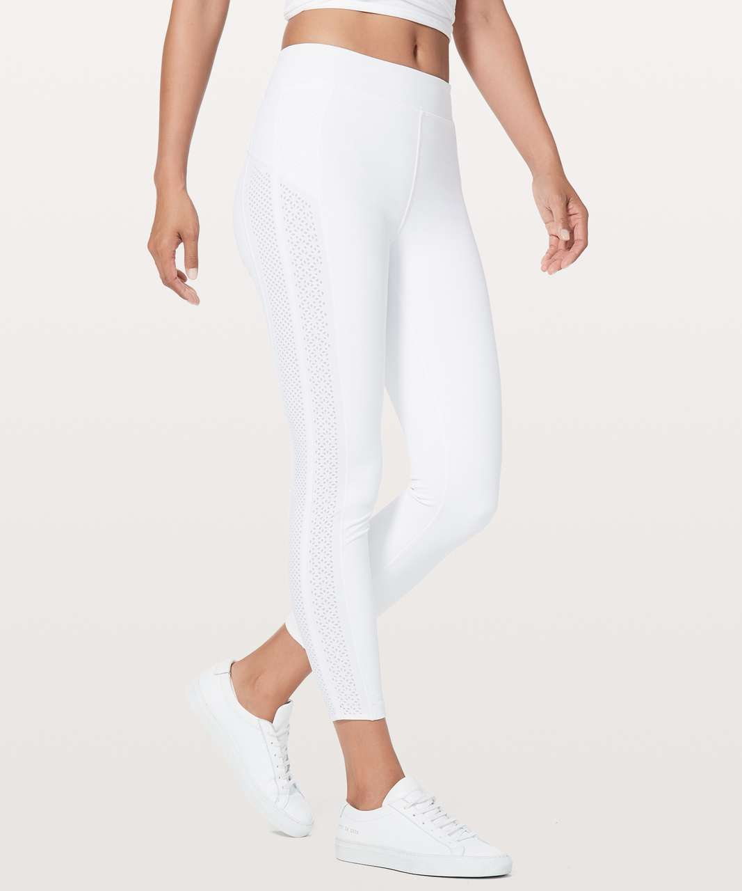 "Lululemon Get Your Peek On Tight *28"" - White"